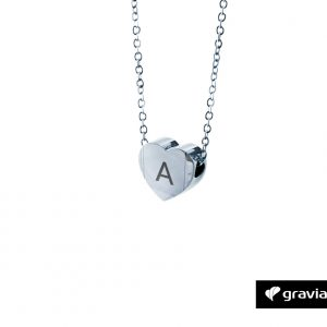 Herzkette mit Initialien_Graviando-