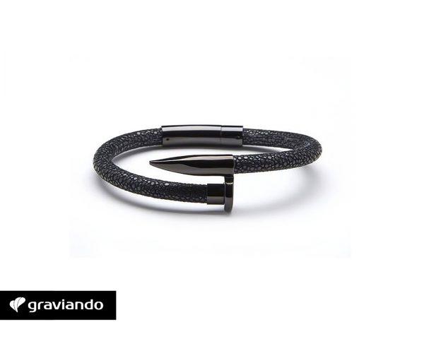 Nagel Armband Herren Graviando