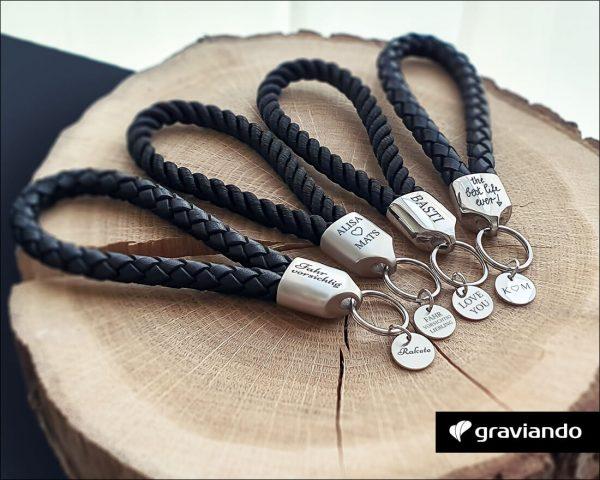 Schlüsselanhänger mit Gravur - Graviando