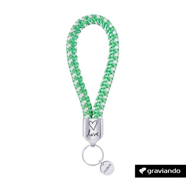 Schlüsselanhänger mit Gravur Graviando