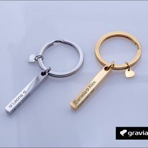 Barren Schlüsselanhänger mit Gravur