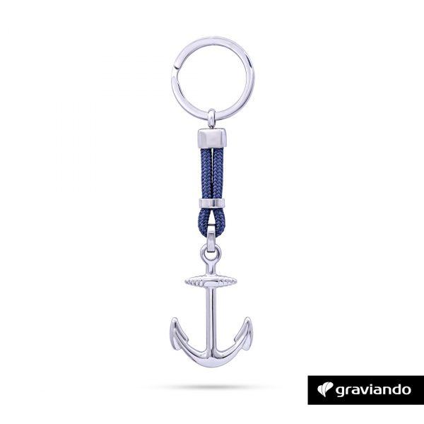 Anker Schlüsselanhänger mit Gravur Graviando