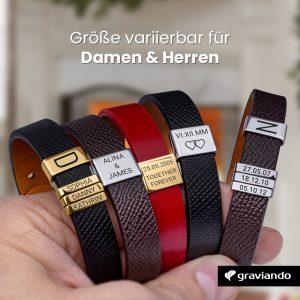 Personalisiertes Armband mit Gravur Graviando