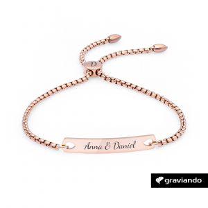 Personalisiertes Damen Armband Graviando